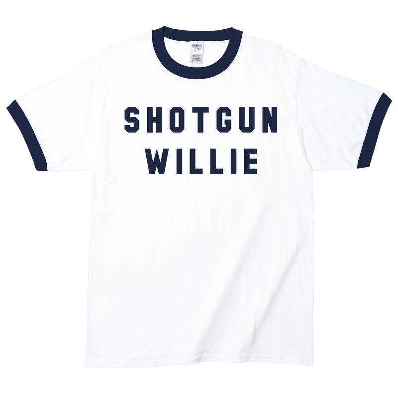 【Shotgun Willie-ショットガン・ウィリー/ウィリー・ネルソン】5.3オンス Tシャツ/WHNV/RT- 305