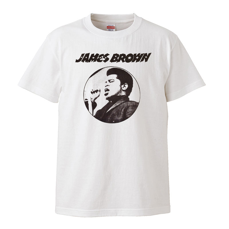 【James Brown/ジェイムス・ブラウン】5.6オンス Tシャツ/WH/ST- 332