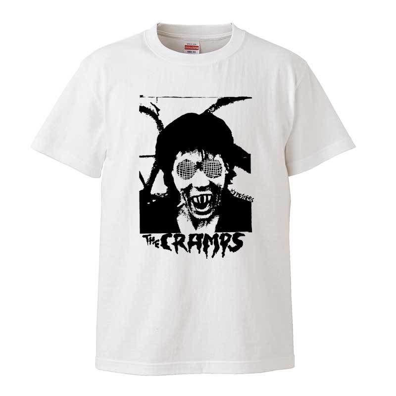 【Cramps-クランプス/Human Fly】5.6オンス Tシャツ/WH/ST- 339