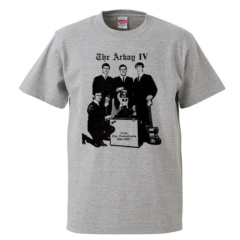 【The Arkay IV/アーケイ・フォース】5.6オンス Tシャツ/GY/ST- 349