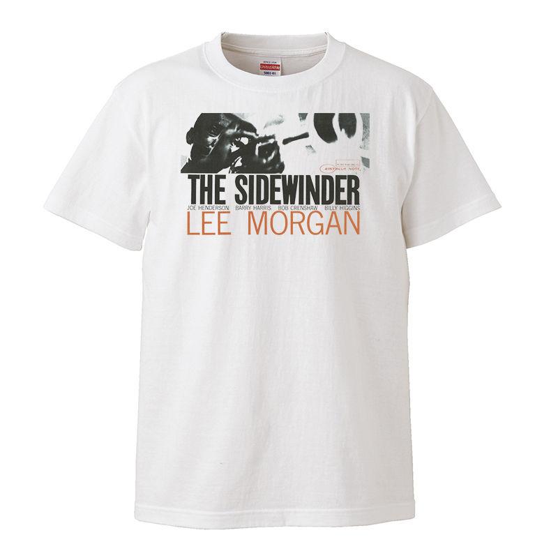 【Lee Morgan-THE SIDEWINDER/ リー・モーガン-ザ・サイドワインダー】5.6オンス Tシャツ/WH/ST-098