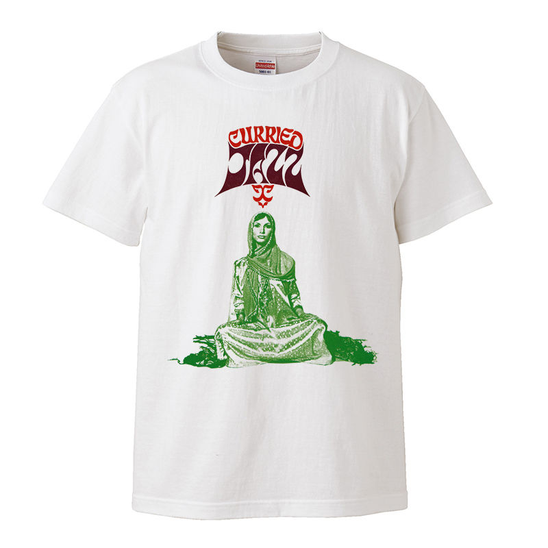 【The Indo-Curried Jazz /カリード・ジャズ】5.6オンス Tシャツ/WH/ST- 272