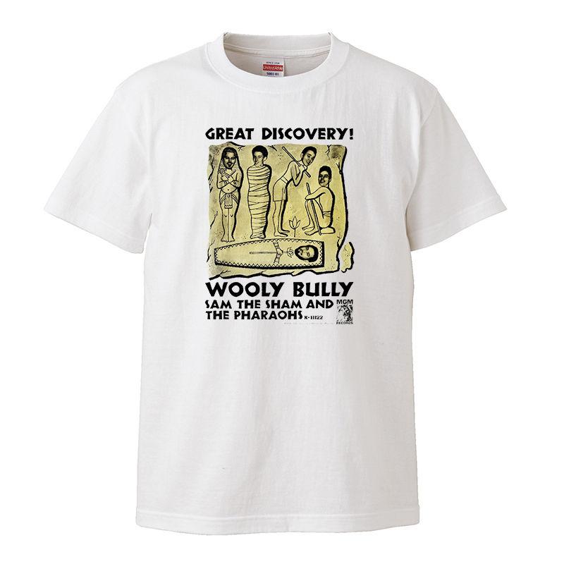 【Sam The sham& The Pharaohs/Wooly Bully-ウーリー・ブーリー】5.6オンス Tシャツ/WH/ST- 179