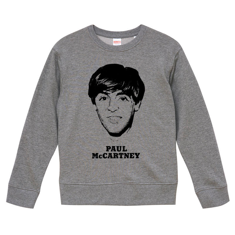 【Paul McCartney/ポールマッカートニー】9.3オンス スウェット/ORG/SW-154