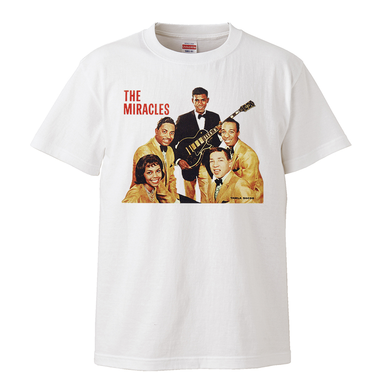 【The Miracles-ザ・ミラクルズ】5.6オンス Tシャツ/WH/ST- 304