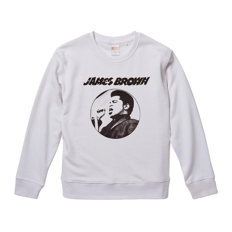 【James Brown/ジェイムス・ブラウン】9.3オンス スウェット/WH/SW- 332