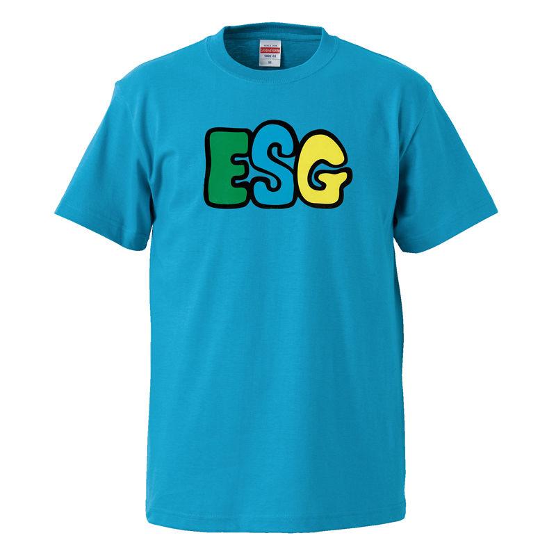 【ESG/イーエスジー】5.6オンス Tシャツ/BL/ST-051