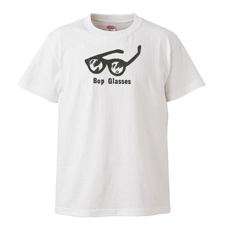 【Bop Glasses/ バップ・グラス】5.6オンス Tシャツ/WH/ST-101