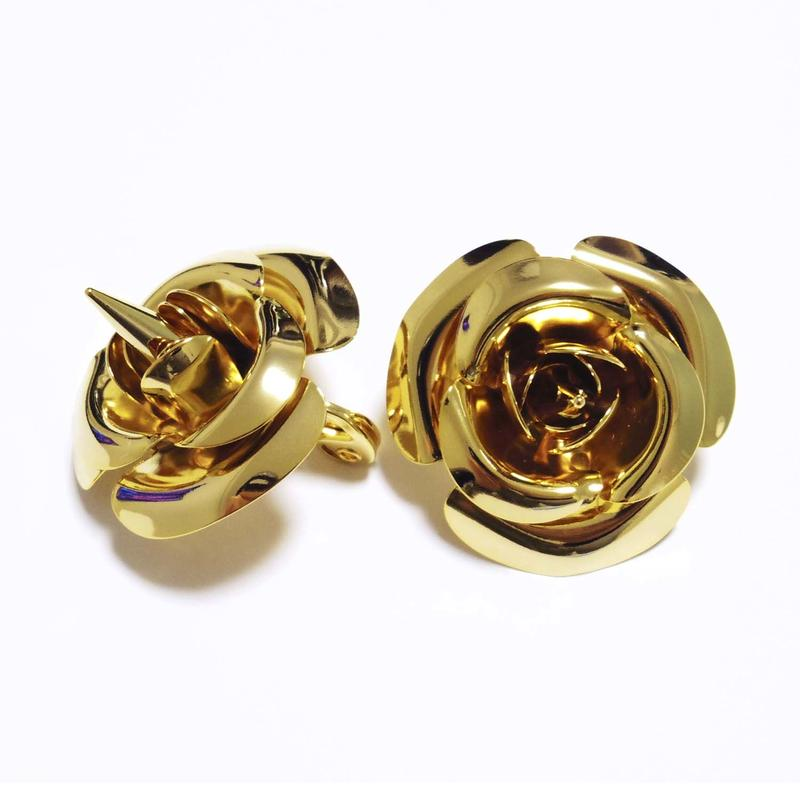 Spike Rose Earring