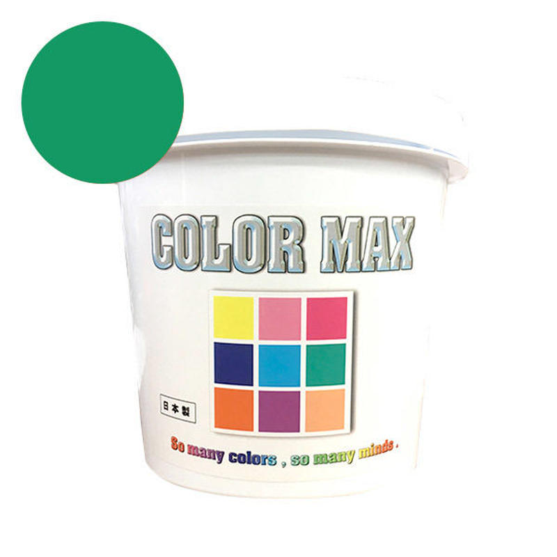COLORMAX 綿用プラスチゾルインク  CM-078 GRASS GREEN