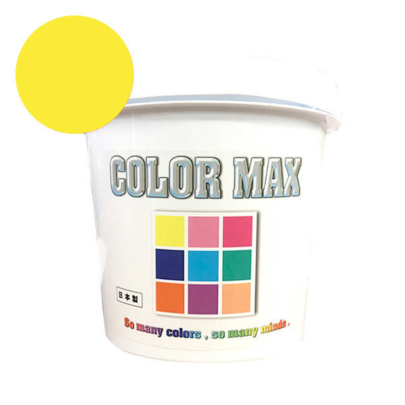 COLORMAX 綿用プラスチゾルインク  CM-031 YELLOW QT(約1.2kg)