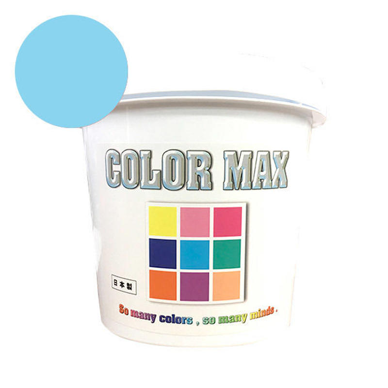 COLORMAX 綿用プラスチゾルインク  CM-054 LIGHT BLUE QT(約1.2kg)
