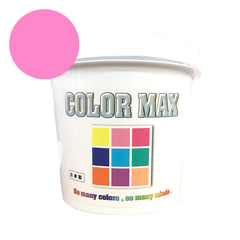 COLORMAX 綿用プラスチゾルインク  CM-048 PINK QT(約1.2kg)