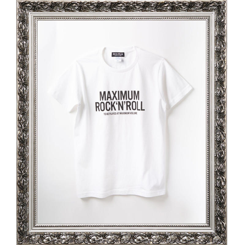 MAXIMUM ROCK'N'ROLL (WHITE)