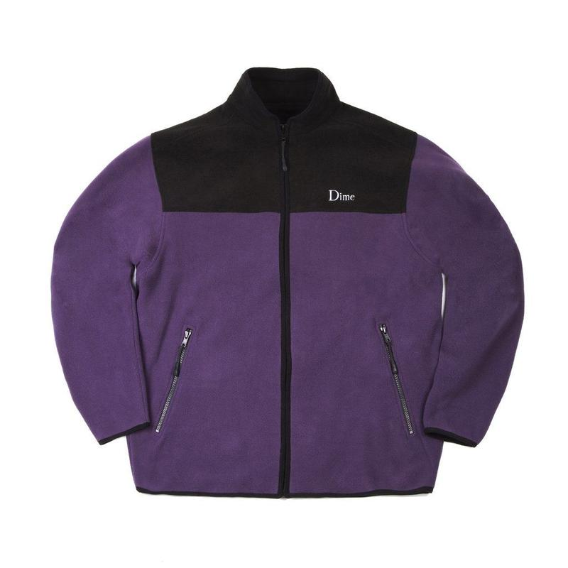 DIME FLEECE JACKET  Purple