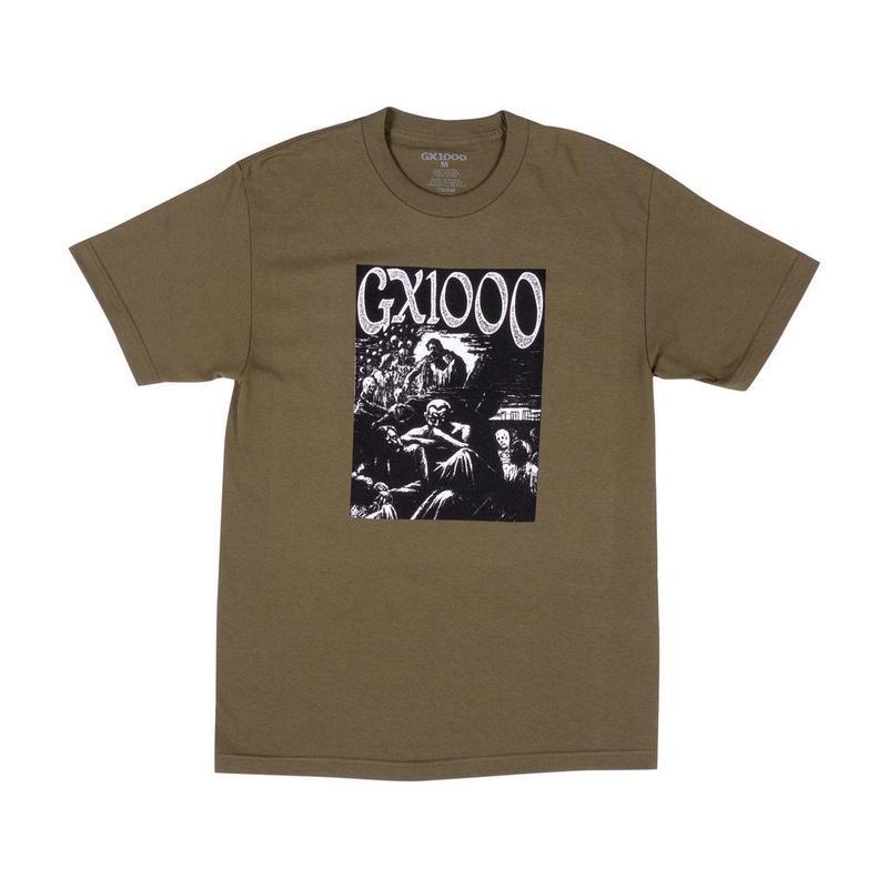 GX1000 Ghoul Tee [Military Green]
