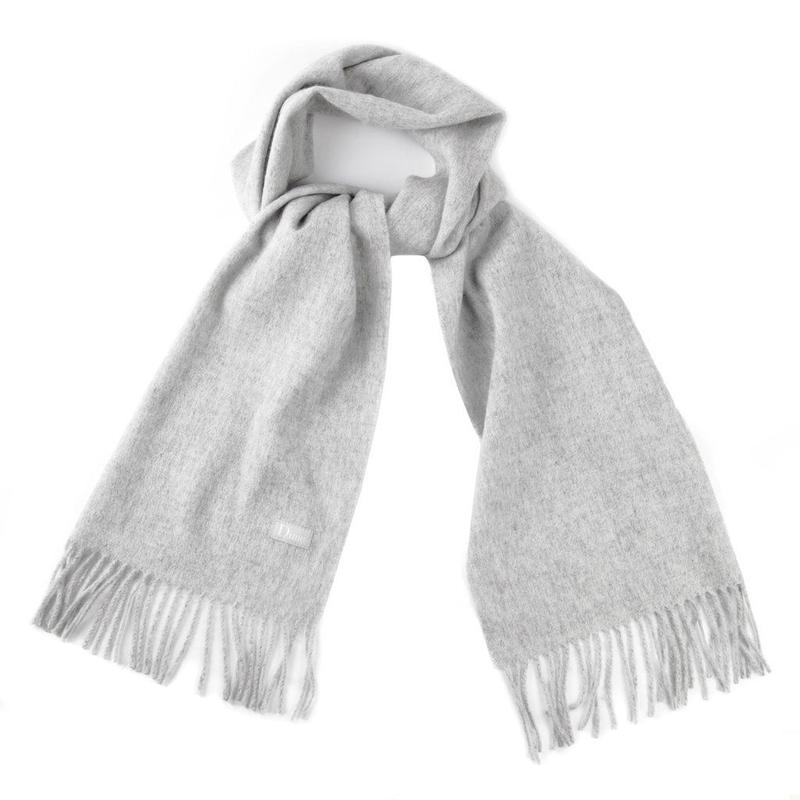 DIME CASHMERE SCARF Gray