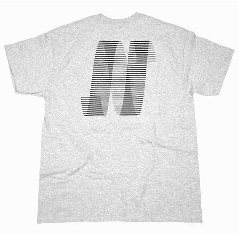 NORTH SKATE MAG North N Logo T-Shirt - Grey/Black