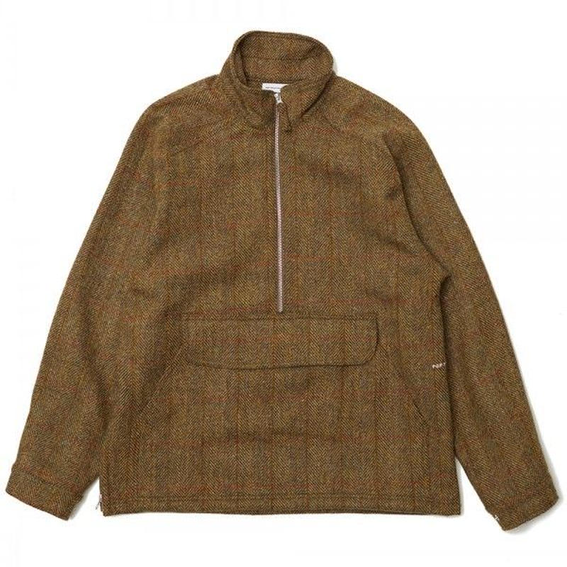 POP DRS HALFZIP JACKET IN HARRIS TWEED