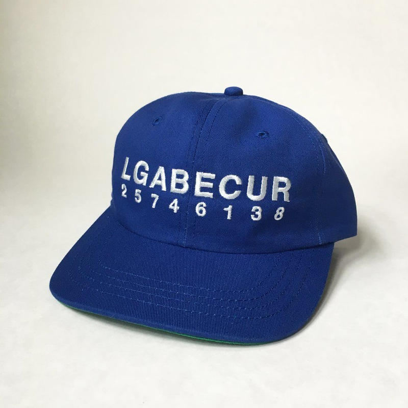 CLUBGEAR Puzzler 6 Panel Hat - Royal Blue/ White
