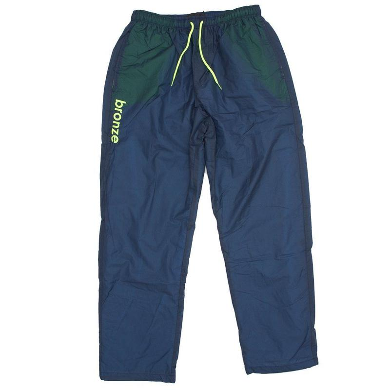BRONZE56K SPORTS PANTS NAVY/LIME