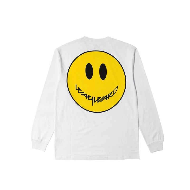 WAYWARD SMILEE LONGSLEEVE WHITE