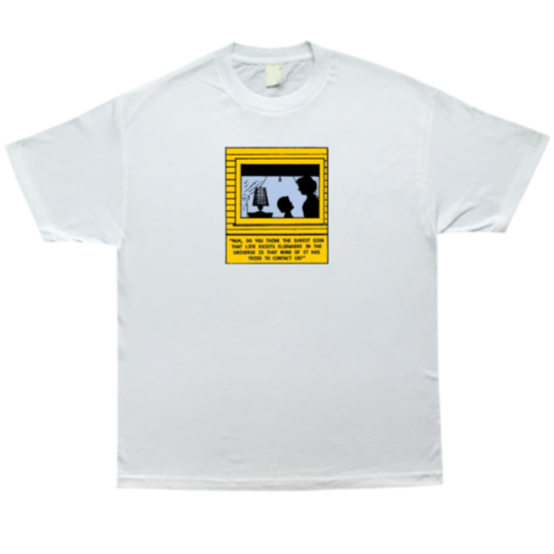 COME SUNDOWN CONTACT S/S  TEE WHITE
