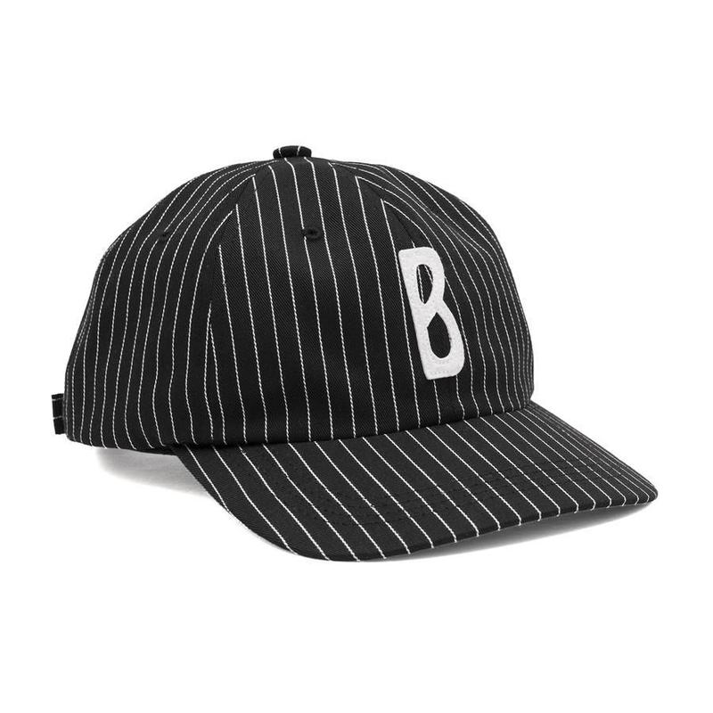 BRONZE TRIPPY B HAT BLACK