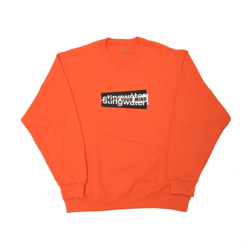 STING WATER EMPTY YOUR MIND ORANGE JUMPER