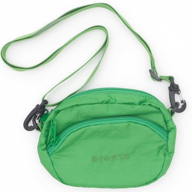 BRONZE56K RIPSTOP SATCHEL BAG GREEN