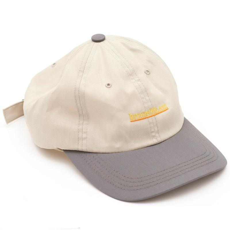 BRONZE56K 2 TONE SPORTS HAT GREY/CHARCOAL
