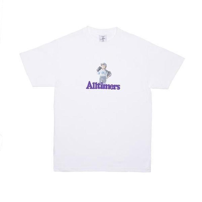ALLTIMERS LIL ANGEL TEE WHITE