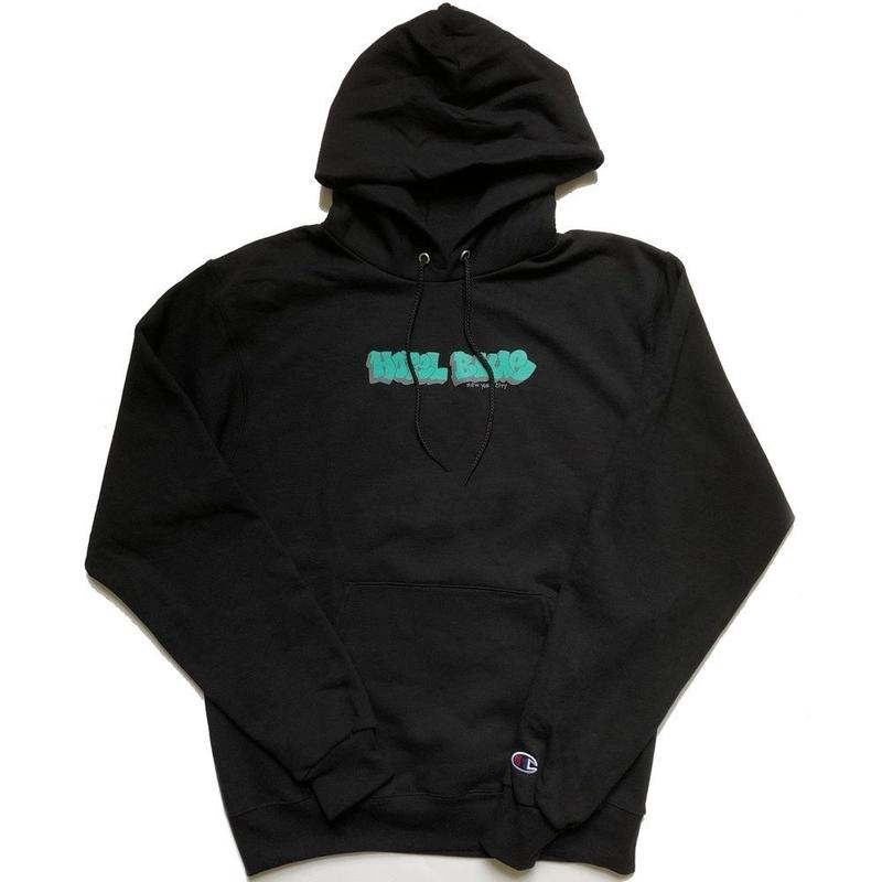HOTEL BLUE GRAFF CHAMPION HOODY BLACK