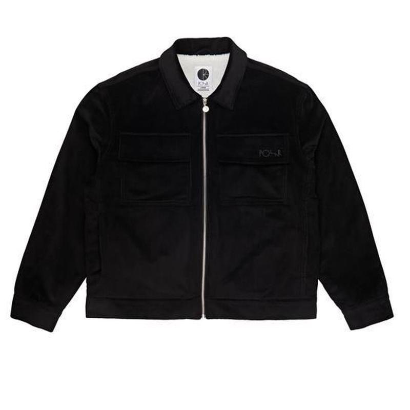 POLAR SKATE CO. CORD JACKET Black