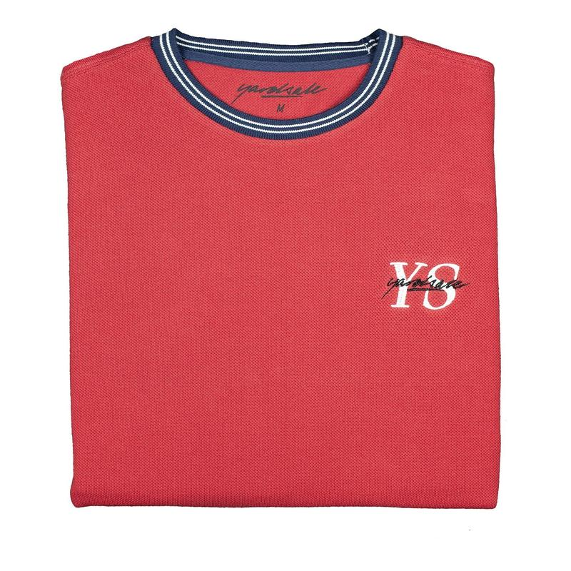YARDSALE Polo YS T-shirt Cardinal