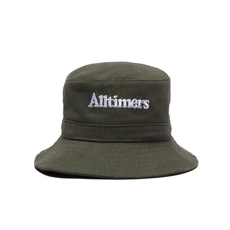 ALLTIMERS NEIGHBORS BUCKET HAT GREEN