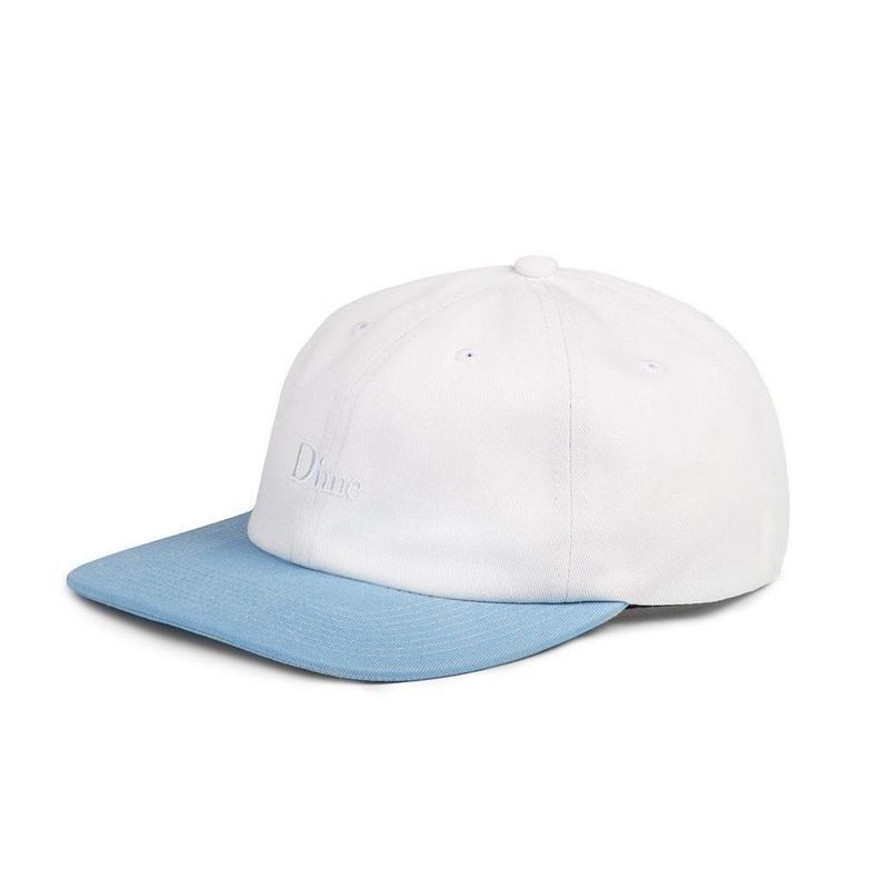 DIME CLASSIC 2-TONE HAT White & Blue