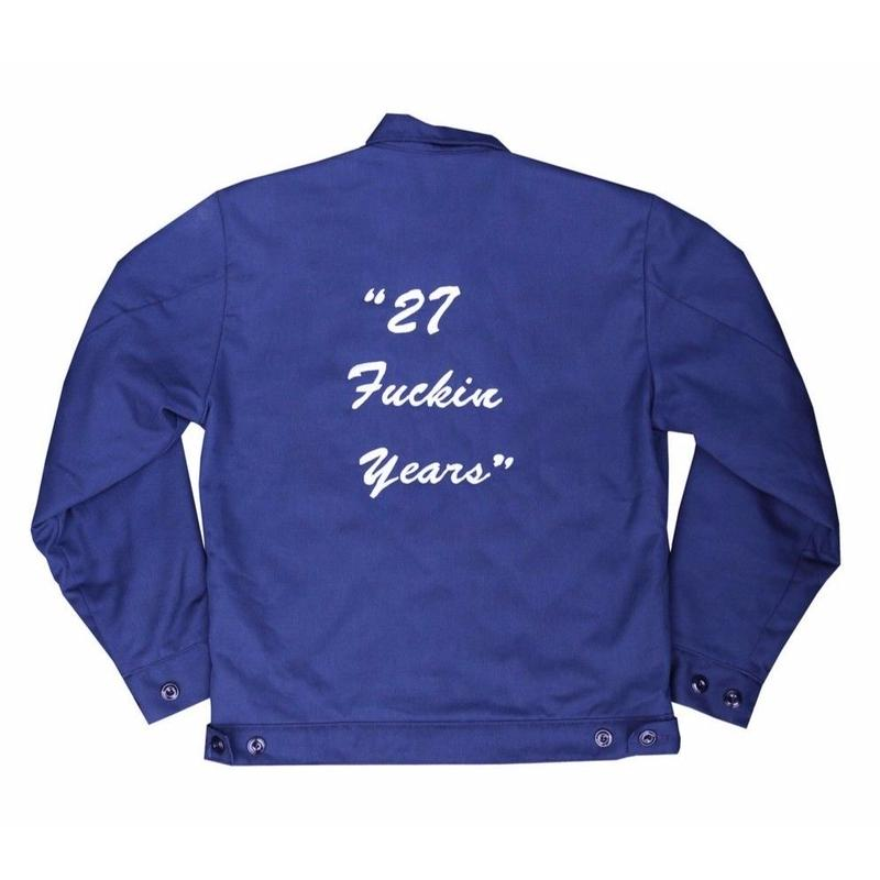 "Peels Sr. Jacket Navy Limited Edition ""27 Fuckin Years"""