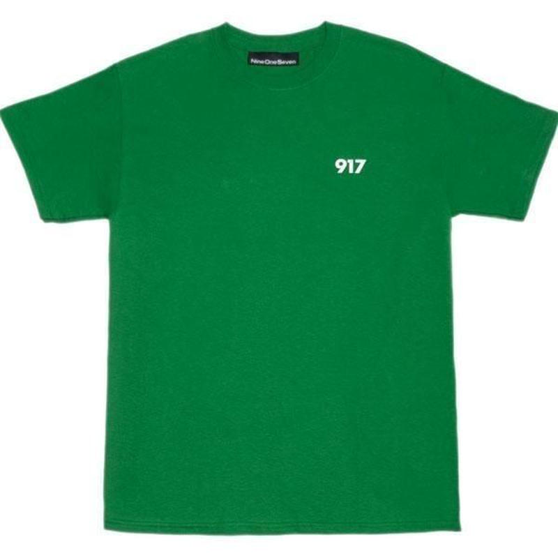 CALL ME 917 Area Code Tee Green
