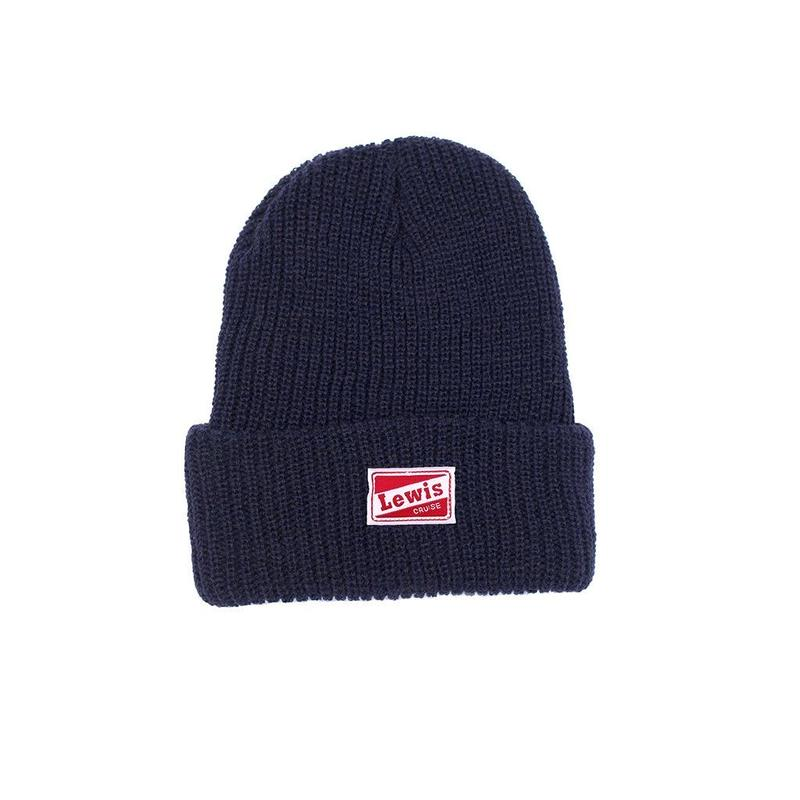 LEWIS CRUISE Lewis Watch Cap Navy