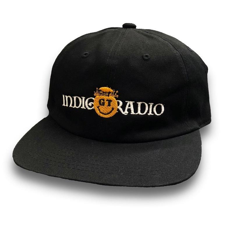 GOOD THINKING  GT x Indigo Radio logo cap  Black