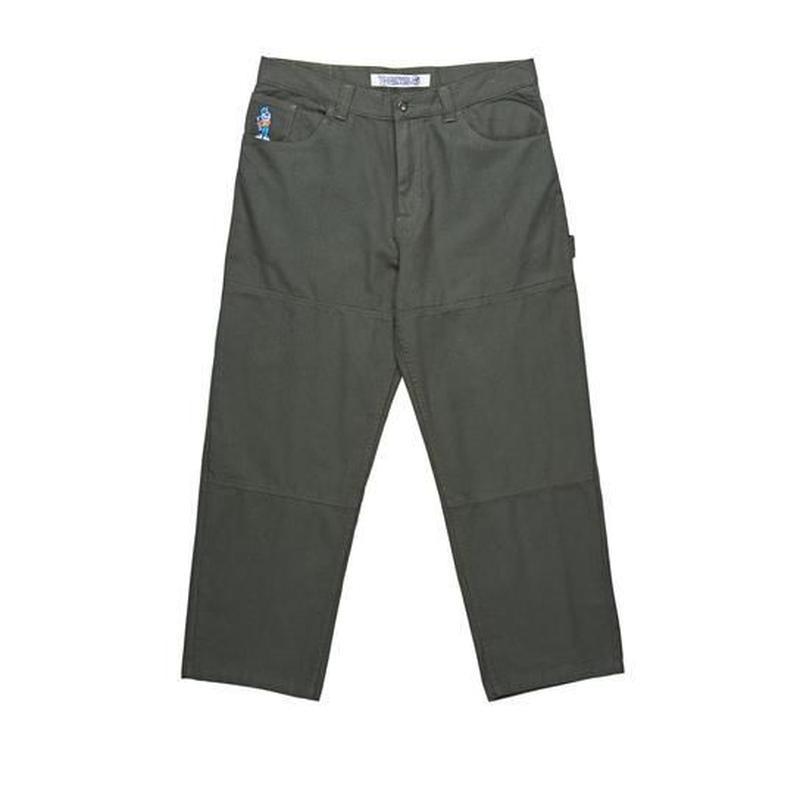 POLAR SKATE CO. '93 CANVAS Grey green