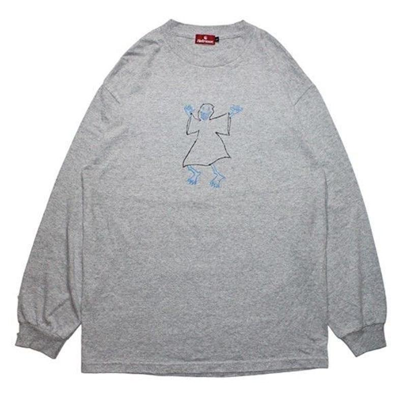 HELLRAZOR Shawn Powers Ghost L/S tee Grey