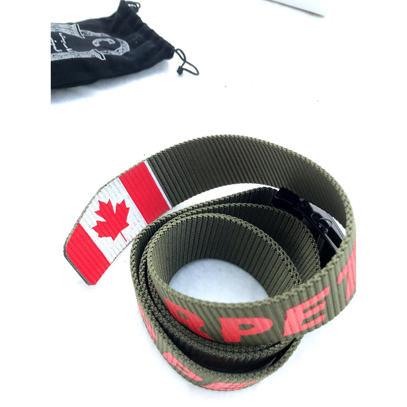 CARPETCOMPANY  ADJUSTABLE MILITARY BELT
