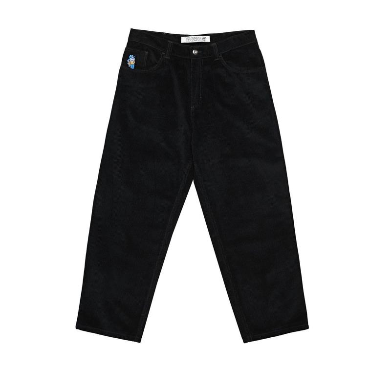 POLAR SKATE CO. 93 CORD PANTS BLACK