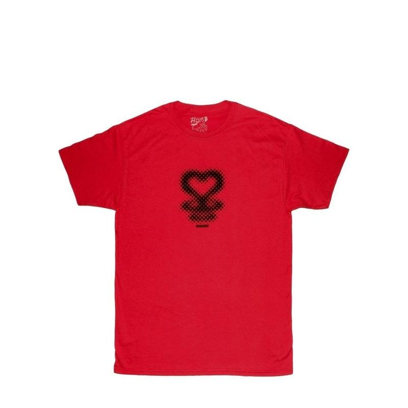HUMBLE Spaceheart Tee Red