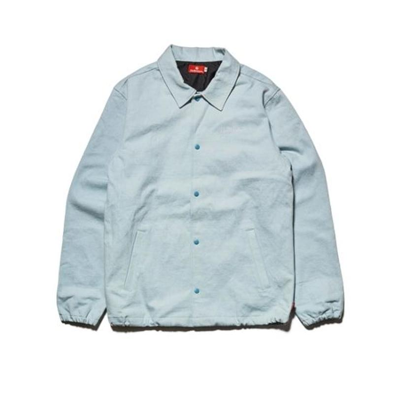 Hellrazor Denim Coach Jacket - Light Blue