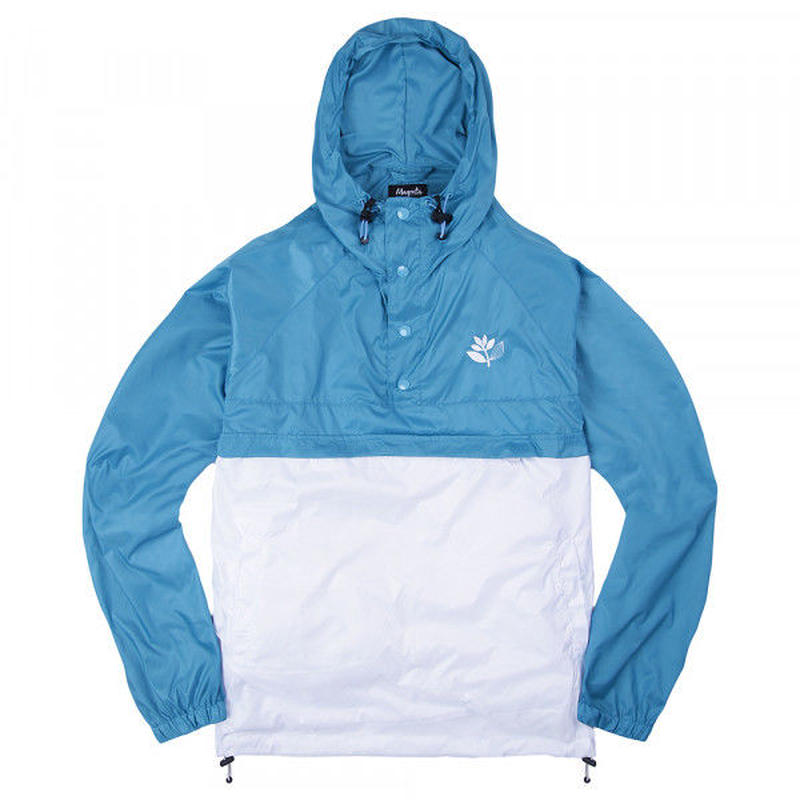 MAGENTA RETRACTABLE JACKET - BABY BLUE
