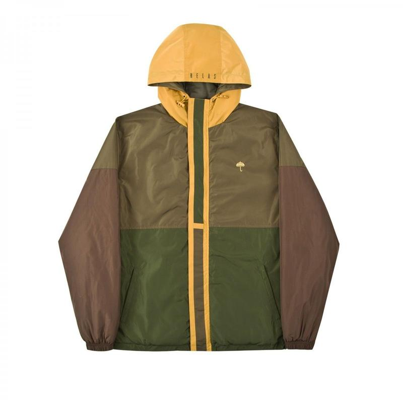 HELAS DELTA JACKET BROWN/GREEN