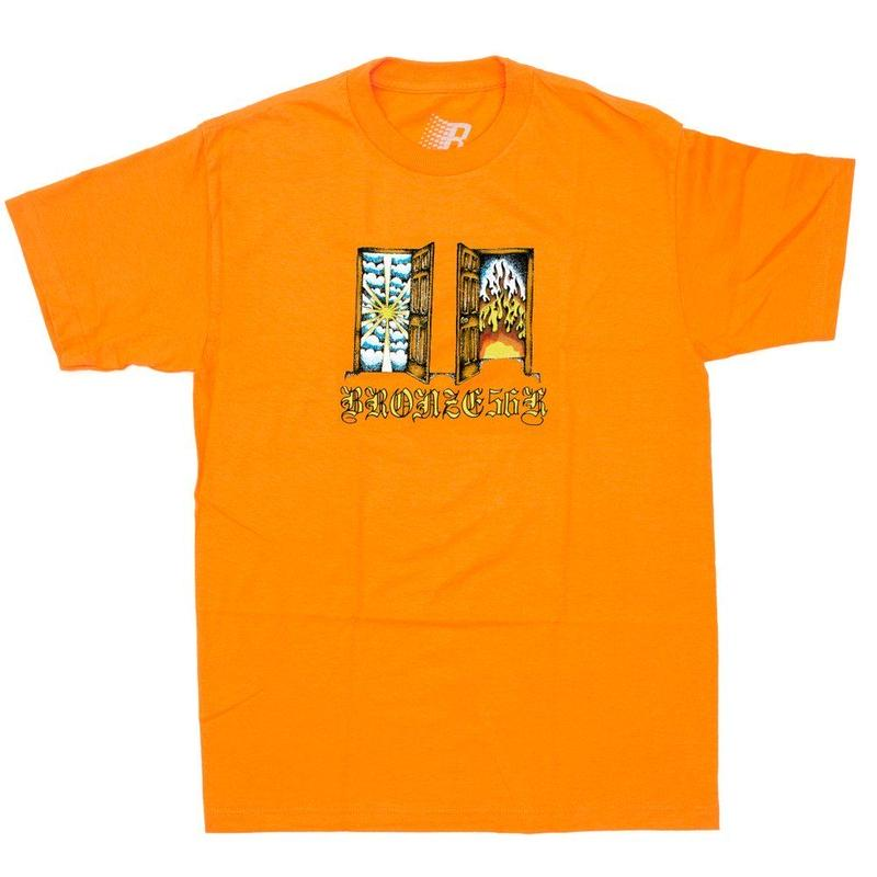 BRONZE56K ITS TIME TEE ORANGE